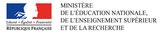 Ministère de l'éducation nationale de l'enseignement supérieur et de la recherche.